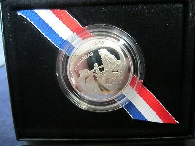 2019-S Mirror Proof Half Dollar APOLLO 11 50th ANNIVERSARY Upper Gde  BOX &  COA
