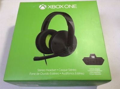 Xbox One Official Wired Stereo Headset - Black