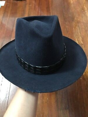 61b307c6377888 NICK FOUQUET HAT Borsalino 57cm Made In Italy Panama Fine Straw Hat ...