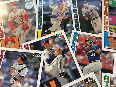 2019 Topps Series 1 1984 Insert U Pick Choose Complete Your Set FREE SHIPPING