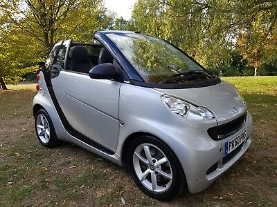 SMART FORTWO 1.0 mhd Cabriolet (60) CONVERTIBLE JUST 34,000M  H/ LEATHER SEATS S