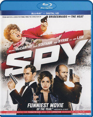 Spy (Theatrical And Unrated Version) (Blu-Ray + Digital Hd) (Blu-Ray) (Blu-Ray)