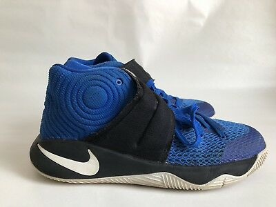 reputable site e31c7 db488 NIKE KYRIE 2 GS Basketball Duke Brotherhood Blue Athletic Shoe 826673 Size  6Y