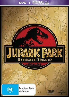 Jurassic Park - Ultimate Trilogy (DVD, 2015, 6-Disc Set) Region 4
