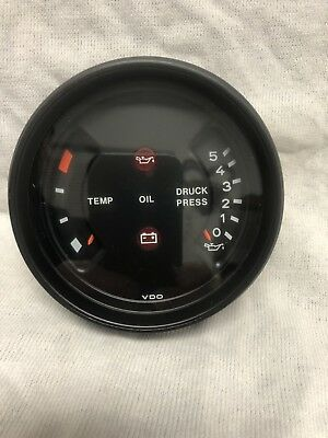 Porsche NOS 911 SC / Carrera / 930 Oil Temp And Pressure Gauge New