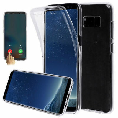 For Samsung Galaxy S10 Lite 360° Front & Back Slim TPU Silicone Clear Gel Case