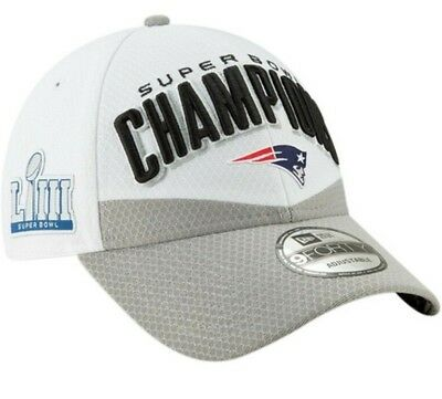 New England Patriots New Era 9Forty Super Bowl Liii 53 Champion Locker Room Hat