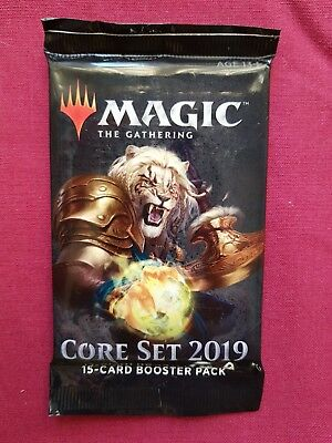 Magic The Gathering New Sealed Booster Pack 2019 CORE SET MTG