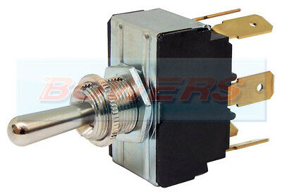 Durite 0-496-02 Double Pole Spring Loaded Momentary On/Off/On Toggle Switch
