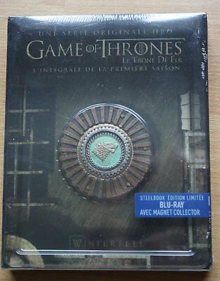 OVP - GAME OF THRONES STAFFEL 1 - LTD. BLU RAY STEELBOOK - DEUTSCHER TON - OoP