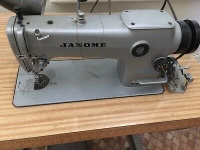 Industrial Sewing Machine and Table, Janome DB-JL01