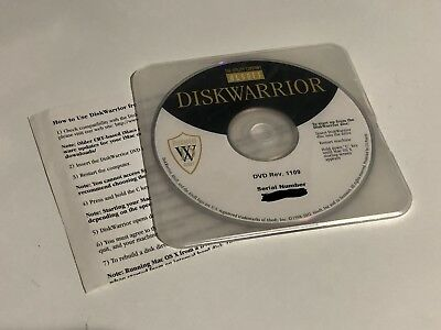 Alsoft DiskWarrior 4 DVD - Recovery & Repair for Apple MacBook, iMac, Mac OS X