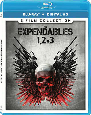 Expendables 3-film Collection [New Blu-ray] 3 Pack, Ac-3/Dolby Digital, Digita