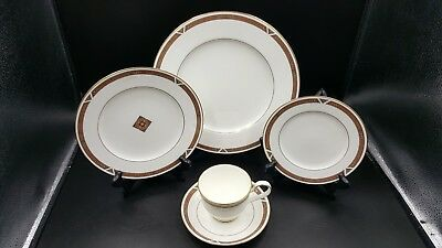 Noritake Diamond Trace 5 Piece Place Setting Multiples Available