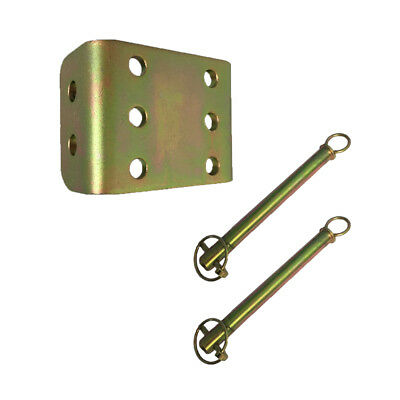 Spare Sliding Plate & Pins For Height Adjustable Tow Ball Hitch Drop Plate
