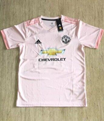 d36d6bc16 Adidas Men s 2018 19 LINGARD  14 Manchester United Pink Away Jersey SIZE  MEDIUM
