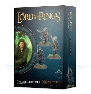 The Three Hunters Games Workshop Middle-Earth Strategy Battle Game Brand New