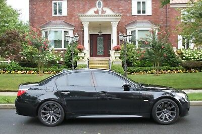 2006 BMW M5 Base 4dr Sedan 2006 BMW M5 Base 4dr Sedan Automatic 7-Speed RWD V10 5.0L Gasoline