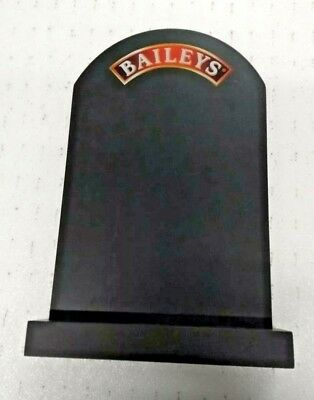 Baileys Double Sided Bar Top/ Table Top Chalk Board With Stand  BNIB Bar Pub
