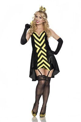 Valentines Day Special Rubies Women's Playboy Queen Bee Sexy Costume, Small