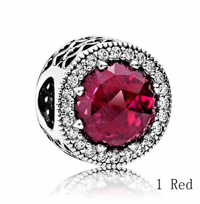 PASSION Charm Synthetic Ruby NEW for Essence BRACELET