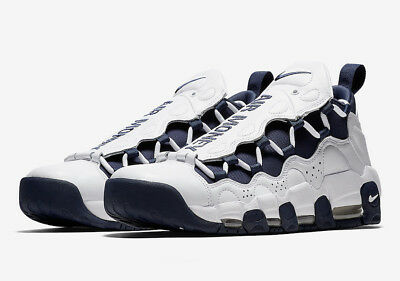 NIKE AIR MORE Money The Bronx Mens Sneakers White Midnight