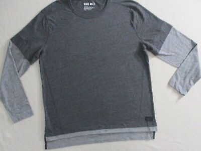 33eee868 MSX BY MICHAEL Strahan Black/gray Mens Polo Shirt Size Large/l New ...