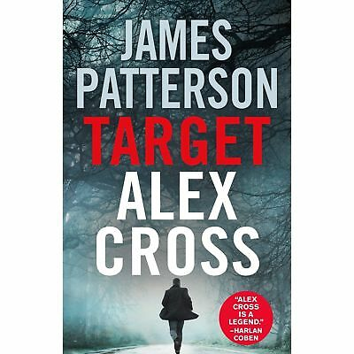 Target: Alex Cross by James Patterson Mystery Thriller -  Hardcover