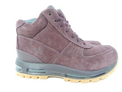 new product c17d1 9f79d Nike Air Max Goadome 2013 ACG Boots Deep Burgundy Gum Suede 599474-600 Size  9.5