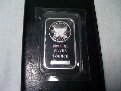 Sunshine Minting 1 Troy Ounce .999 Fine Silver Bar