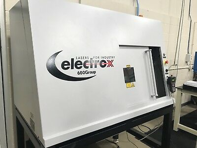 5-Axis Electrox Laser Marking Machine, Model: Cobra w/ Full Enclosure