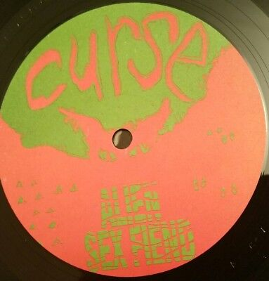 Alien Sex Fiend Curse Vinyl LP Anagram Records France Batcave Gothic rare