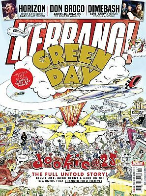 KERRANG! magazine February 2019: Green Day (Dookie 25 Years) + art print