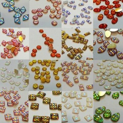 AB Crystal 3D Rhinestones High-Shine Stones Gems Crafts Nail Art Tips Decoration