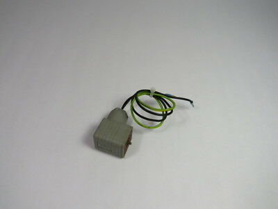 Hirschmann 14A-GDM Cable Connector for Solenoid Coil 10 Amp 250 Volt  USED