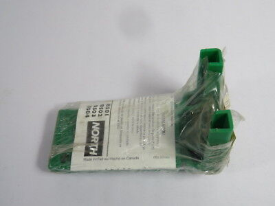 "North BS01G Green Lockout for Ball Valve for Size 3/8-1-1/4""  NEW"