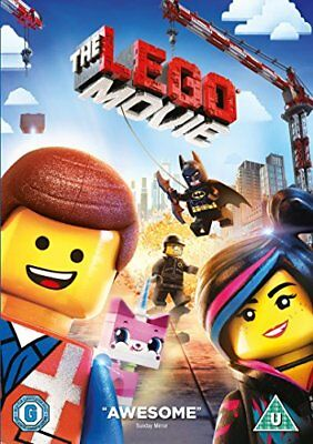 The Lego Movie [DVD] [2014] Used Very Good UK Region 2