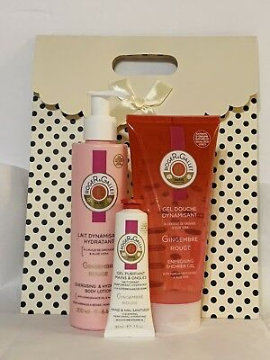 French Roger & Gallet 3pc Gift Set