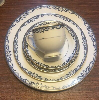 Lenox Liberty China 5 Piece Place Setting Dinner Salad Bread Plate Teacup Saucer
