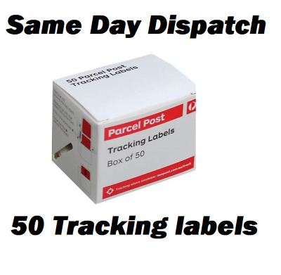 Australia Post Tracking Labels, 50 labels, Sticker Proof of delivery AusPost