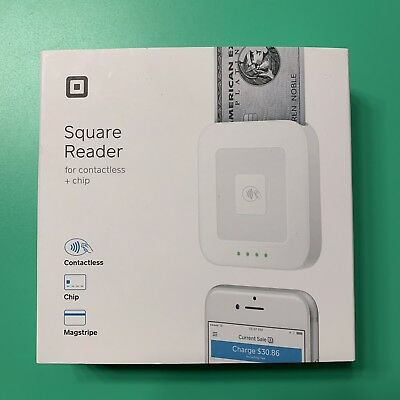 Square Reader Contactless Chip Magstripe Accept Payments Everywhere - New