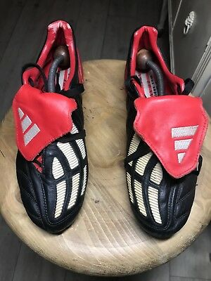 reputable site 93975 12bd9 Adidas Predator Mania Football Boots 2002 Sg Size Uk 6 , Eur 38 23