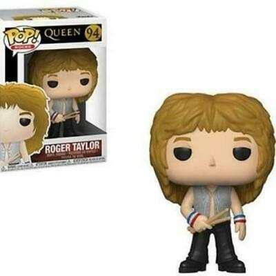 Funko Pop! 94 Pop Rocks- Queen - Roger Taylor vinyl figure
