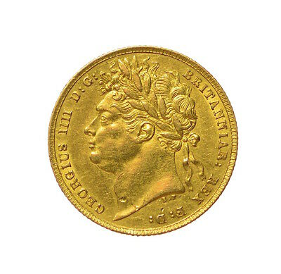 1822 Sovereign George Iv  ®-J18
