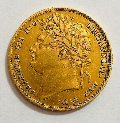1824 Sovereign George Iv ®-1233