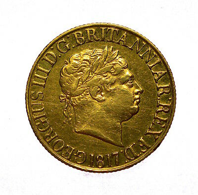 1817 Sovereign George Iii ®-1218