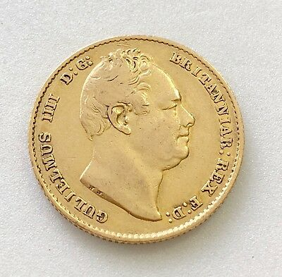 1835 Sovereign William Iv Scarce Year ®-1279
