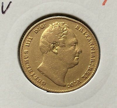 1832  Sovereign  William Iv  ®-1309