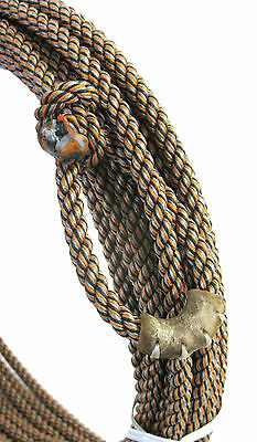 RED//WHITE//BLUE Ranch Poly Rope 9.5 x 50/' Synco Brand 3 Strand