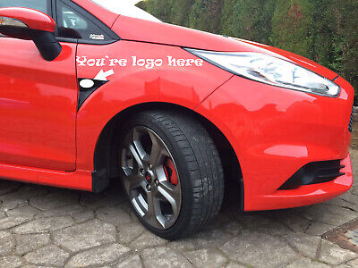 Ford Fiesta mk8 gel overlay stereo gel badge